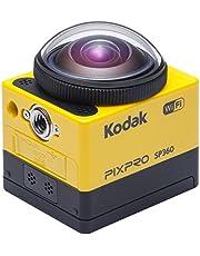 "Kodak PixPro SP360 cámara para deporte de acción Full HD MOS 17,52 MP 25,4 / 2,33 mm (1 / 2.33"") Wifi 103 g - Cámara deportiva (Full HD, 1920 x 1080 Pixeles, 120 pps, 848 x 480,1280 x 720,1280 x 960,1920 x 1080, H.264,MP4, 1080p,720p)"
