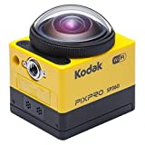 Kodak PixPro SP360 cmara para deporte de accin Full HD MOS 17,52 MP 25,4 / 2,33 mm (1 / 2.33') Wifi 103 g - Cmara deportiva (Full HD, 1920 x 1080 Pixeles, 120 pps, 848 x 480,1280 x 720,1280 x 960,1920 x 1080, H.264,MP4, 1080p,720p)