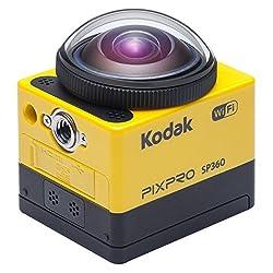 Kodak SP360 Extreme Pixpro Action Camera including Extreme Kit yellow / black