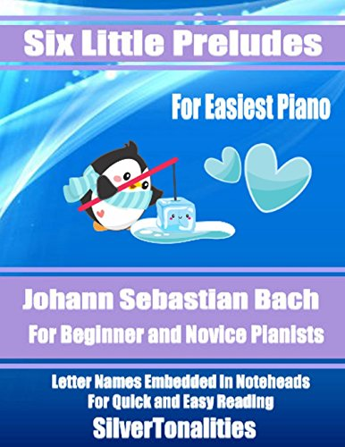 Six Little Preludes for Easiest Piano