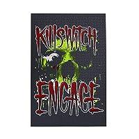 キルスウィッチ・エンゲイジ Killswitch Engage 1000個の 木製ピース ジグソーパズル ワンピース (50x75cm) ジグソーピース 立体パズル 木製ジグソーパズル 大人 ピースジグソーパズル
