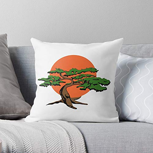 Sun Tree Orange Bonsai Miyagi Do Kid Karate Canvas Wall Art for Living Room Bedroom Kitchen Dinning Room Office Home Decor 3