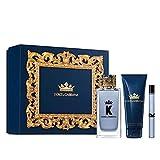 Dolce & Gabbana K Eau Toilette 100 ml + Balsamo Afeitado 75 ml + Eau Toliette 10 ml
