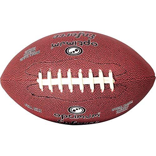 Optimum Enforce - Balón de fútbol Americano, Color Granate