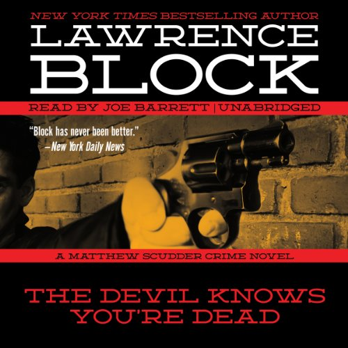The Devil Knows You're Dead audiobook cover art