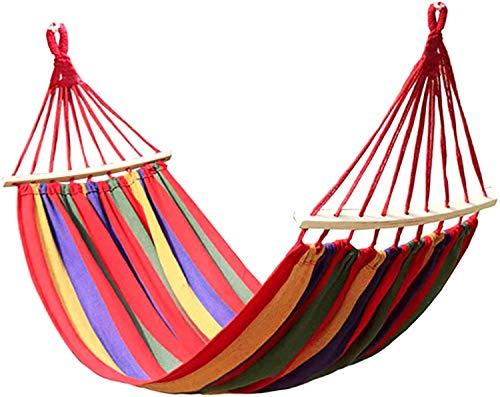 MVNZXL Hamaca para Acampar, Hamaca portátil para Interior, hogar, Dormitorio, Hamaca, Silla Perezosa, Silla de Viaje, Hamaca para Acampar al Aire Libre, Columpio