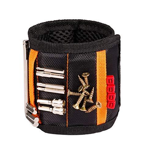 Cinturón magnético de herramientas con 15 imanes potentes para sujetar clavos tornillos taladro Regalo de cumpleaños para mecánico carpintero manitas trabajador electricista Esposo