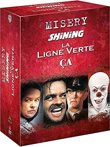 Stephen King : Misery + Shining + Les Évadés + La Ligne Verte + Ça - Coffret DVD