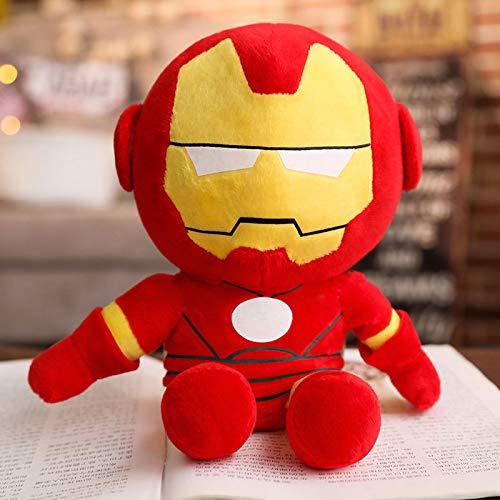 Marvel Avengers peluche bambola, Spiderman Superman Batman Capitan America Iron Man bambola bambola,...