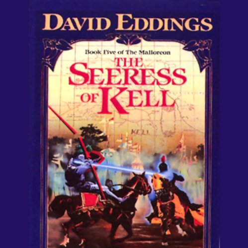 The Seeress of Kell audiobook cover art