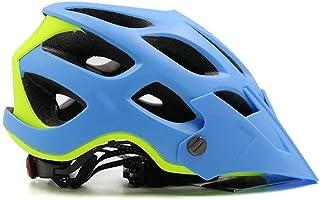 XSWZAQ Casco de Descenso Equipo para Montar Casco Bicicleta de montaña Sombrero Desmontable Casco Transpirable Campo a través (Color : B)
