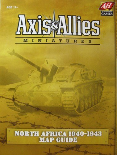 Axis & Allies Miniatures North Africa 1940-1943 Map Guide