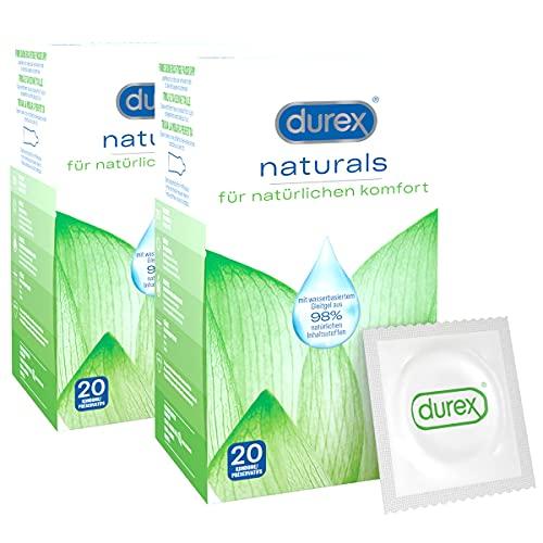 Durex Naturals Kondome 40 Stück