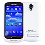 Alpatronix Galaxy S4 Battery Case, BX400 3000mAh Slim External Protective Removable Rechargeable Portable Charging Case for Samsung Galaxy S4 [S4 Charger Case Power Case & Juice Bank] - (White)