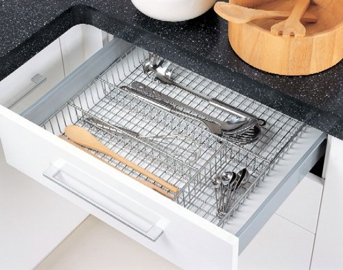Neu Home 1818 Organize It All Chrome Flatware Organizer