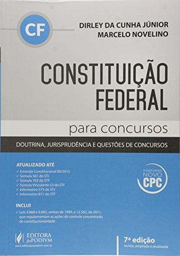 Constituição Federal Para Concursos - 7ª Ed. 2016