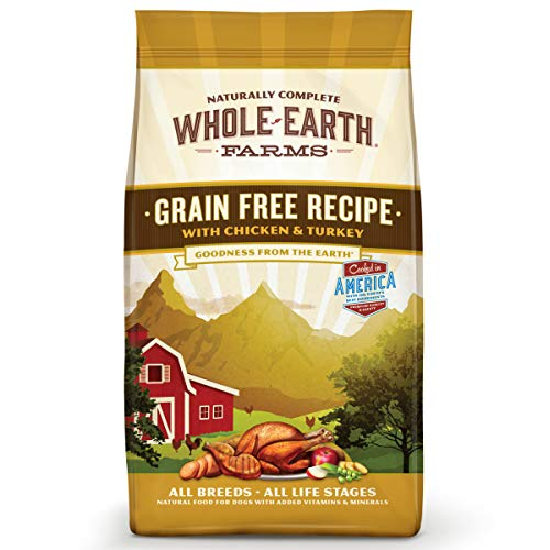 Whole Earth Farms Grain Free Recipe Dry Dog Food, Chicken &...