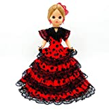 Folk Artesanía Muñeca Sintra 42 cm Similar Nancy Famosa Vestido...