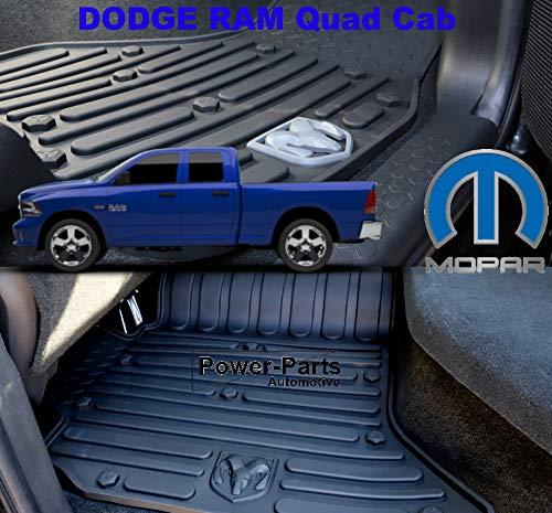 Mopar 3er Set Fußmatten Set vorne/hinten Quad Cab 09-18