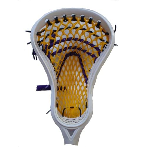 Stick Doctor Lacrosse Mesh Stringing Kit - Native (Yellow Gold/Purple/Black)
