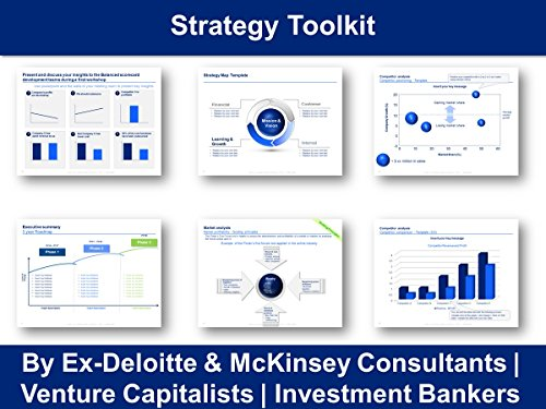 Strategy Toolkit in Powerpoint & Excel  | By ex Deloitte & McKinsey Consultants