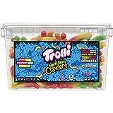 Trolli Sour Brite Crawlers Gummy Worms, 3.96 Pound Tub Sour Gummy Worms
