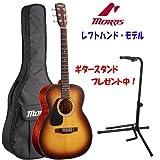 モーリスのレフトハンド/左利き用モデル Morris F-350 LH TS (タバコサンバースト) / ・フォークサイズ アコースティクギター 【ギタースタンド・プレゼント中!】