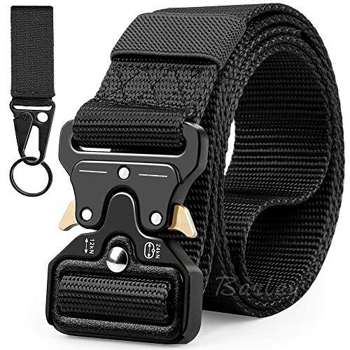 Cintura Girovita Militare Sports Donna Fibbia in Metallo Cinghie Combattimento
