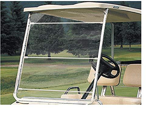 Performance Plus Carts Soft Flexible PVC Universal Golf Cart Windshield