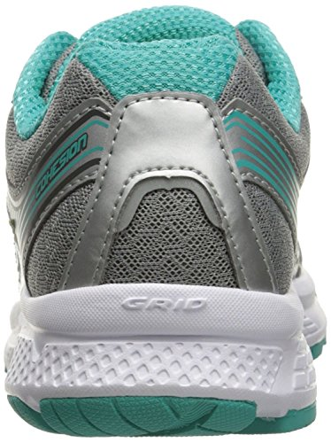 Saucony Women's Cohesion 10 Running Shoe, Grey/Tea/Ct, 11 M US Mississippi