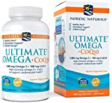 Nordic Naturals - Ultimate Omega+CoQ10, Support for the Heart + Circulatory System, 120 Soft Gels