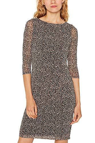 ESPRIT Collection Damen 109Eo1E009 Kleid, 001/BLACK, XXL