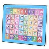 Kuuleyn Jouet éducatif pour Tablette pour Tout-Petits, bébé Enfants écran Tactile Intelligent Ultra-Mince Apprentissage Anglais Machine Tablette Jouet d'apprentissage éducatif précoce
