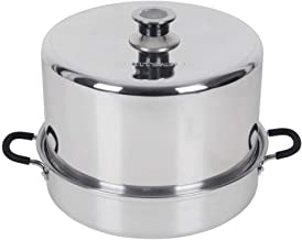 Roots & Branches VKP1054 FruitSaver Aluminum Steam Canner with Temperature Indicator,..