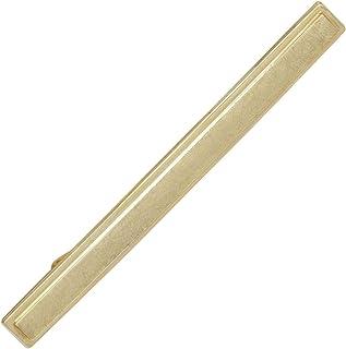Fermacravatta in oro giallo 333 parzialmente opaco da uomo