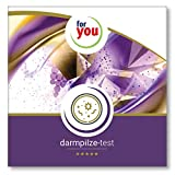 for you darmpilze-test I zertifizierter Labor Test zur Messung der Darmplize Candida albicans Geotrichum Rhodotorula Schimmelpilze und Stuhl-pH-Wert I Stuhlprobe Selbsttest Darm Test 7 teilig