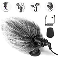 Neewer CM14 Mic Phone Mic on-Camera Video Microphone with Shock Mount