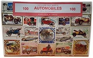 Explora Colección de Sellos Vehículos - Coches / Autos / Automotores para el Transporte/ de Todo el Mundo / 100 Sellos Diferentes / Recuerdo