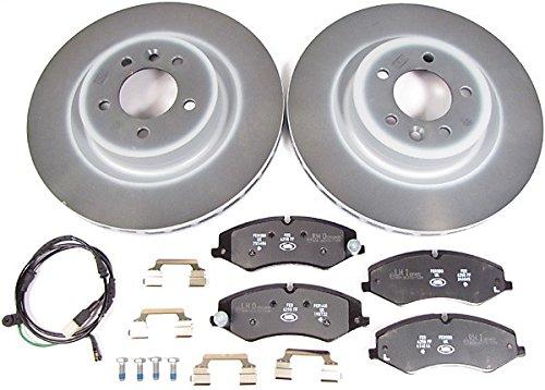 Front Brake Kit with Genuine Rotors & Brake Pads for Land Rover V8 5.0L LR4 (2010-2013)
