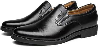 XIGUAUK Homme Chaussure en Cuir a Enfiler Souple de Costume d'uniforme Habillée Élégant Chaussure de Business Décontractée...