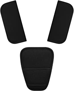 Accmor Baby Car Seat Strap Covers Suit, Stroller Belt Cover, Car Seat Strap Pads Baby Seat Belt Covers, Stroller Belt Covers, Baby Head Support, Baby Shoulder Pads,Hip Support