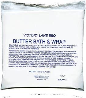 Victory Lane BBQ Butter Bath & Wrap-12 Oz Award Winning Rib Marinade/Bath