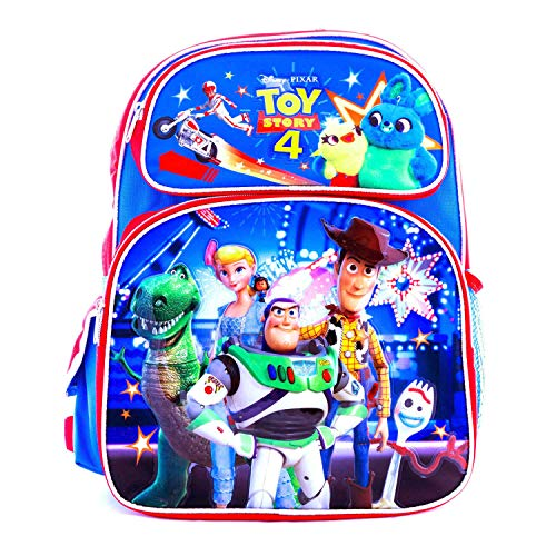 Disney Toy Story 4 Backpacks or Lunch Box Bag Travel Luggage Sold Individually (16 inch)