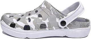 WYTX Sandalias Planas de Verano Resbalón de los Hombres en Agua Transpirable Playa Playa Zapatos de Playa Moda Zapatos Ama...