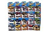 Hot Wheels Plastic Model Cars, Set Of 9, Multicolour