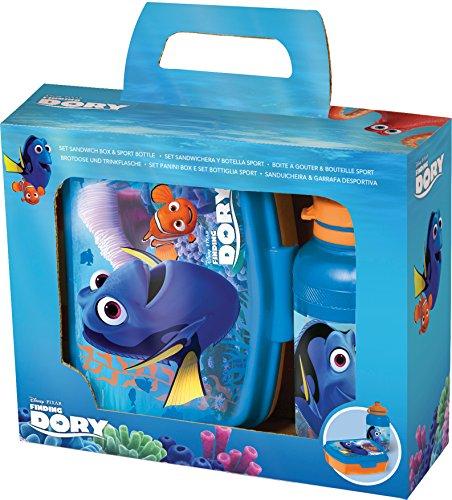 Joy Toy Disney alla Ricerca di Dory porta merenda e borraccia, 784573