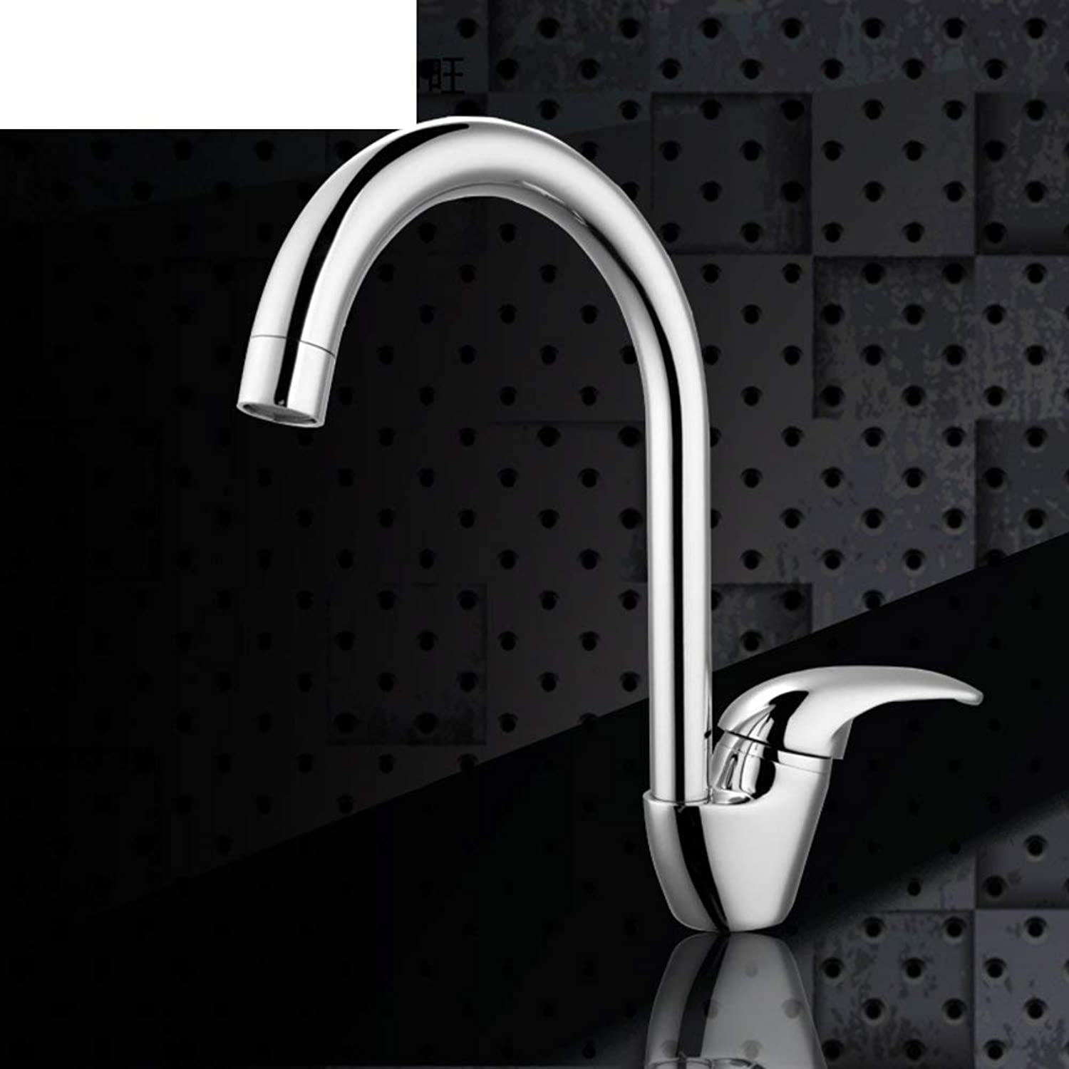 FuweiEncore Single-hole hot and cold taps Kitchen sink faucet Vegetables basin faucet Vegetables pool sink faucet redation (color   -, Size   -)