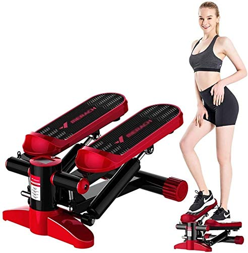 Poncho Desk Multi-funcional Twist Stepping Machine Steppers for el ejercicio escalera paso a paso pedal Trainer arriba-abajo-paso a paso que tuerce la máquina bicicleta de gimnasio ejercicio Cardio Tr