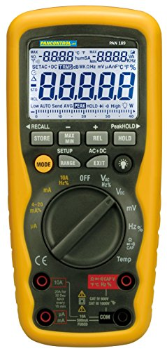 PANCONTROL professionele digitale multimeter PAN 189USB IP67