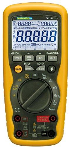 PANCONTROL Profi-Digitalmultimeter PAN 189USB IP67